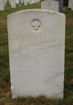 Everett C Saunders