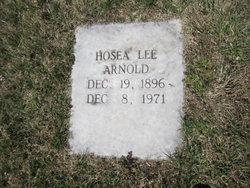 Hosea Lee Arnold