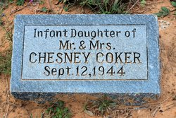 Infant Of Chesney Coker