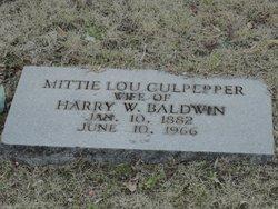 Mattie Lou <i>Culpepper</i> Baldwin