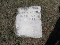 Sidney Marvin Arnold
