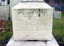Anna A. <i>Upham</i> Bates