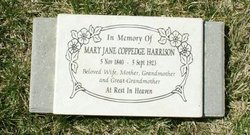 Mary Jane <i>Coppedge</i> Harrison