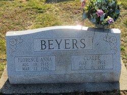 Florence Anna <i>Harrell</i> Beyers