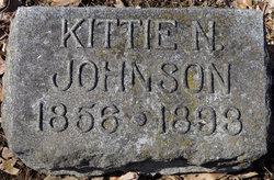 Kittie N. <i>Camp</i> Johnson