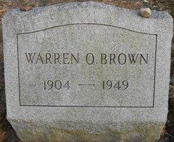 Warren Oliver Brown