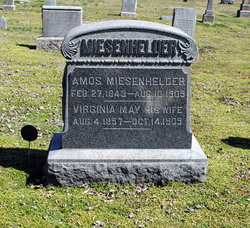 Virginia May Jennie <i>Alexander</i> Miesenhelder