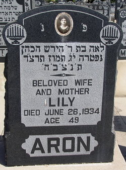 Lily Aron