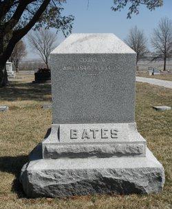 Rev George W Bates