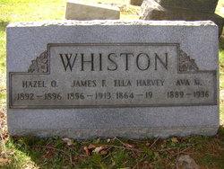 James F Whiston