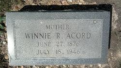 Winnie Rachel <i>Hill</i> Acord