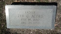 Zedric Calvin Acord