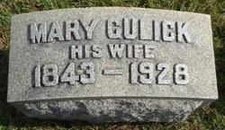 Mary <i>Gulick</i> Barras