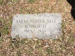 Sarah <i>Foster</i> Bosworth