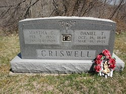 Martha Catherine <i>Hightchew</i> Criswell