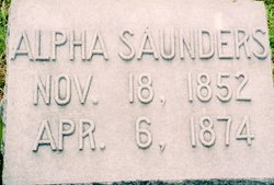 Alpha Saunders
