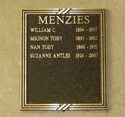 Suzanne <i>Menzies</i> Antles