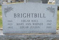 Mary Ann <i>Warner</i> Brightbill