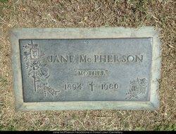 Jane <i>Bailey</i> McPherson