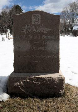 Alice <i>Wight</i> Bonney