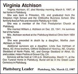 Mary Virginia <i>Stoddard</i> Atchison