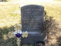 Benjamin D Stanton