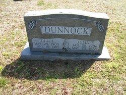 Julia T Dunnock