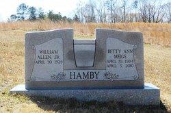 William Allen Billy Hamby, Jr