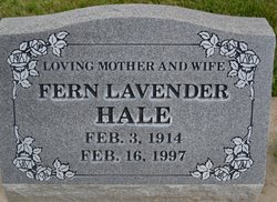 Fern <i>Dixon</i> Lavender Hale