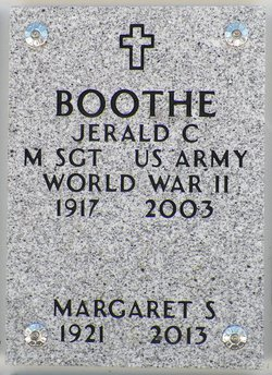 Jerald C Boothe