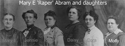 Mary Elizabeth <i>Raper</i> Abram