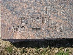 Edward Paul McShane