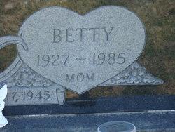 Betty Louise <i>Peters</i> Puckett