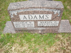 Charles William Adams
