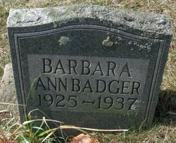 Barbara Ann Badger