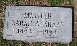 Sarah Ann <i>Wagaman</i> Kraas