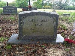 Carlie <i>Noble</i> Carr