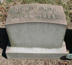 Rev John Dixon