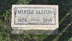 Myrtle <i>Reece</i> Elston