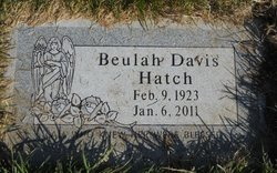 Beulah Katherine <i>Davis</i> Hatch