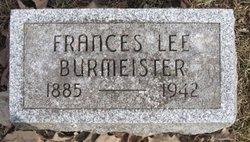 Mrs Frances Lee Burmeister