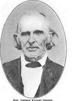 Rev George Knight Hester