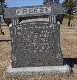 Elizabeth Jane <i>Knapp</i> Freeze