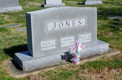 Sarah Elizabeth <i>Kemper</i> Jones