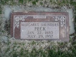 Margaret <i>Saunders</i> Peck