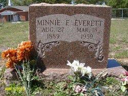 Minnie F Everett