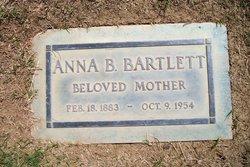 Anna Belle <i>Wagaman</i> Bartlett