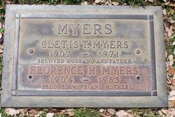 Cletis T Myers