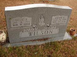 Ollie Jane <i>Lewis</i> Wilson
