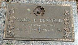 Vada Viola <i>Brackett</i> Benfield